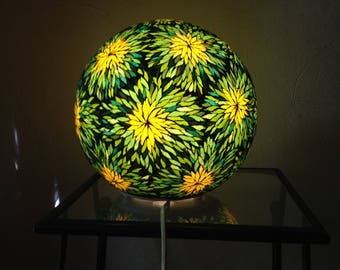 To order. Stained glass mosaic ball lamp.