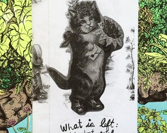 What is left: a zine about grief