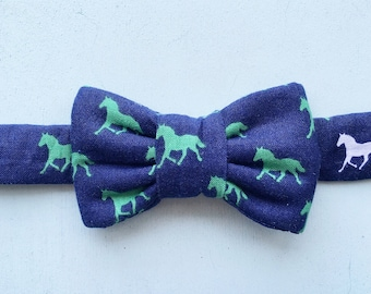 Equestrian print  Bow Tie For Cats