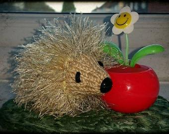 Knitted Mini Hedgehog