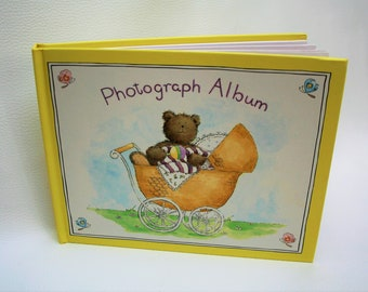 BABY PHOTOGRAPH ALBUM  holds 24