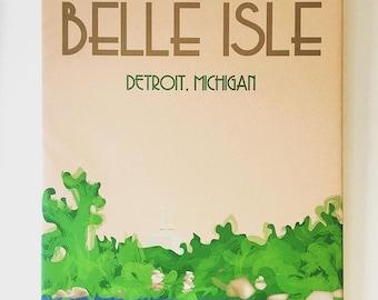 Belle Isle 24x36 Canvas Print