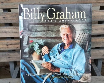 Billy Graham God's Ambassador- Vintage Books- Christian/Christianity- Russ Busby Photographs- Illustrated- Time Life- Biography/History Book