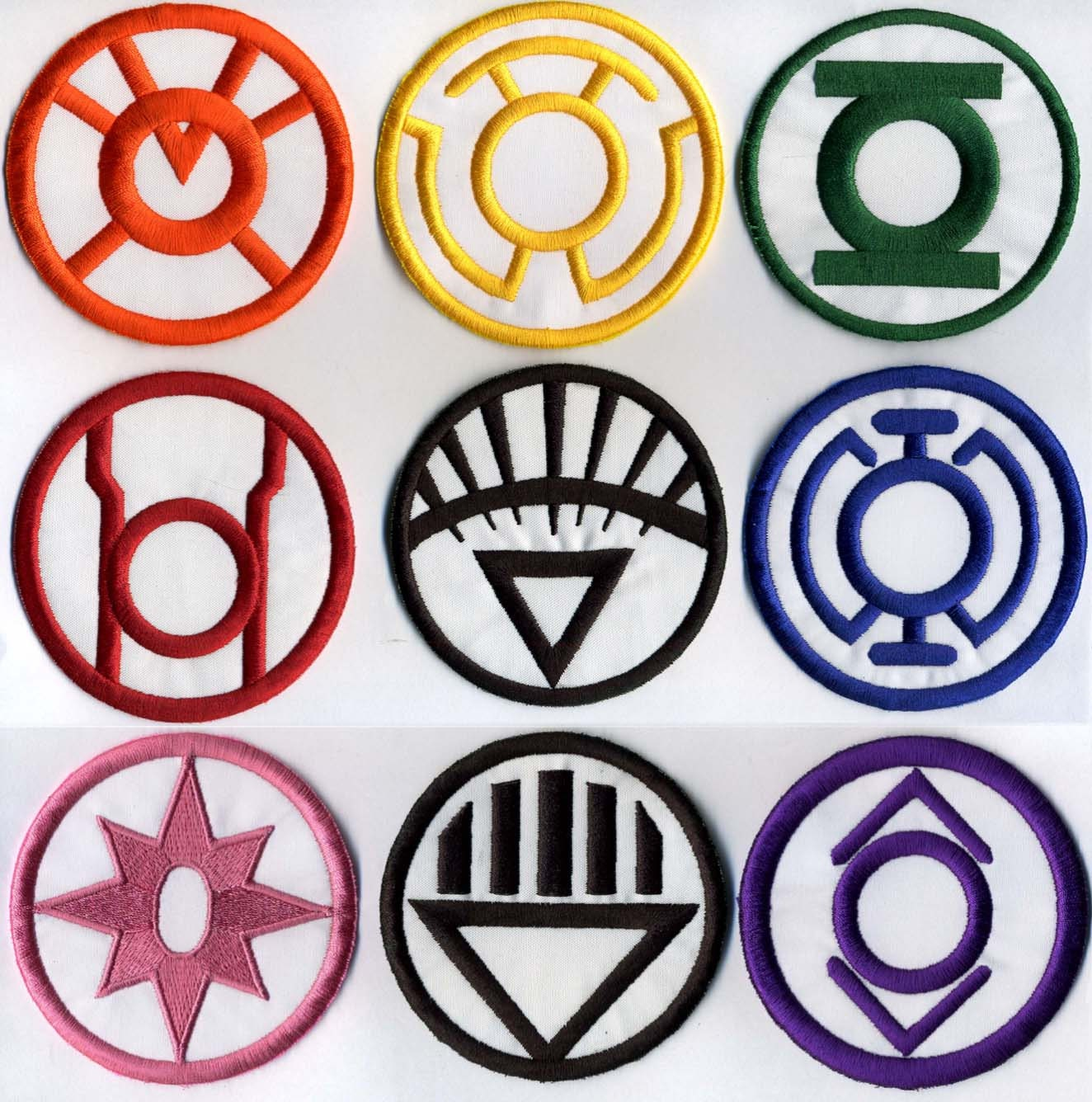 Green lantern lantern corps embroidered 8 patch your zoom biocorpaavc Gallery