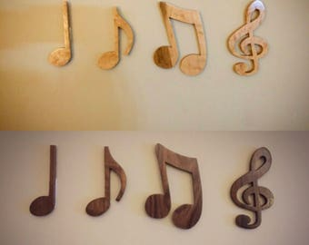Musical Notes (set of 4)