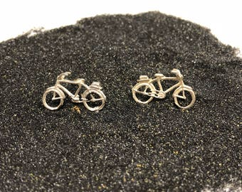 bici,bicicleta, bicycle, pendant, pendientes, earrings, silver,  plata, jewelry