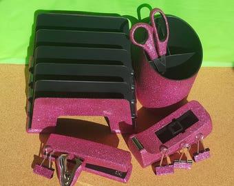 Pink Office Supplies