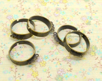 5 x 4 adjustable brass ring holder attachment ring