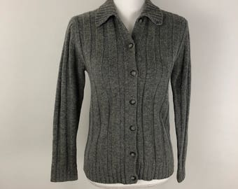 Vtg. Brooks Brothers 100% lambswool Cardigan XS