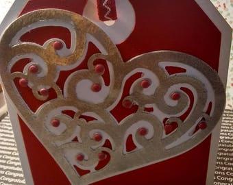 Swirly Heart Card
