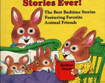 Richard Scarry's Best Two-Minute Stories Ever! + Richard Scarry + Richard Scarry + 1967 + Vintage Kids Book