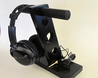 Headphone Stand | Headphone Holder | Headphone Stand Wood | Headphone Station