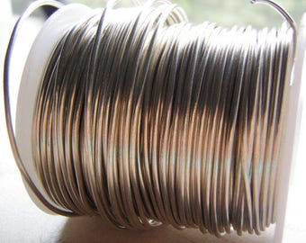 Tinned Copper Wire Dead Soft Sold by the Foot Coiled