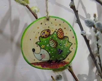Easter, EASTER wooden decoration, wood, Easter ornament, easter decoration, decoration, handmade