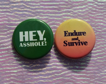 """The Last of Us 1.25"""" Pinback Button Set"""
