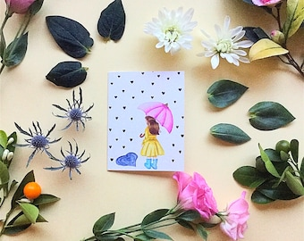 Greeting Card-Thinking of You