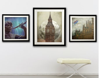 sets and enlargements-  Peter Pan,London  Photography - Set of London fine art photographs