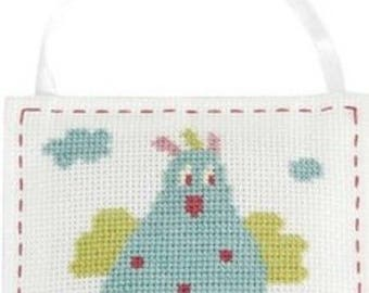 Hanging country counted cross stitch Kit
