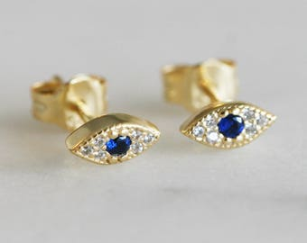 Evil eye protection studs