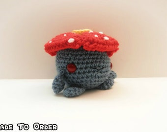 Crochet Vileplume Inspired Chibi Pokemon