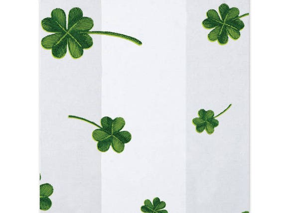 St. Patrick's Day Cookie Bags, Shamrock Cellophane Bags