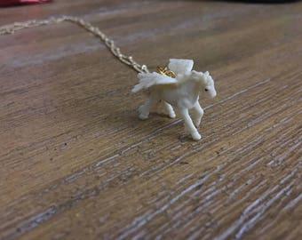 Fantasy Pegasus Necklace