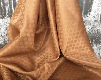 Vintage Scarf - Rust - Gold - Accessories - Headscarf - Gift - Fashion