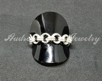 2-in-2 Chainmaille Ring