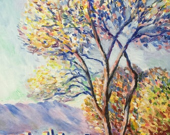 Based on Claude Monet's  landscapes
