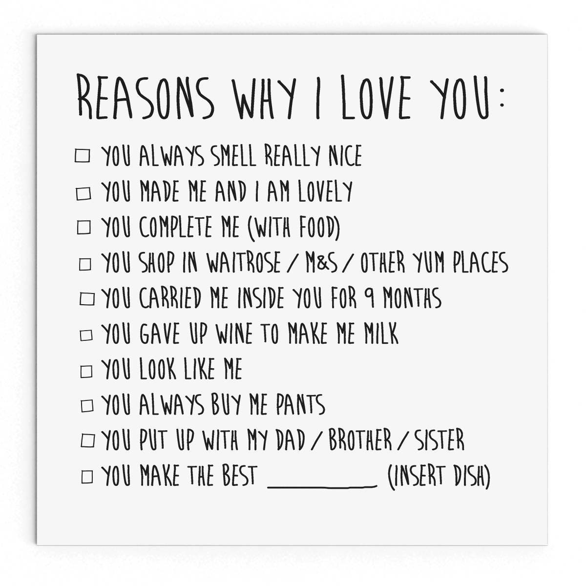 reasons why you love your boyfriend