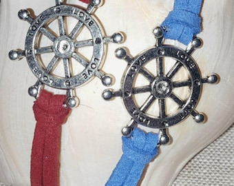 Ship Wheel Bracelet