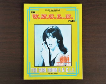 The U.N.C.L.E. Files Magazine - 1985 Vintage - The Girl From UNCLE Part One by John Peel - in Good cond