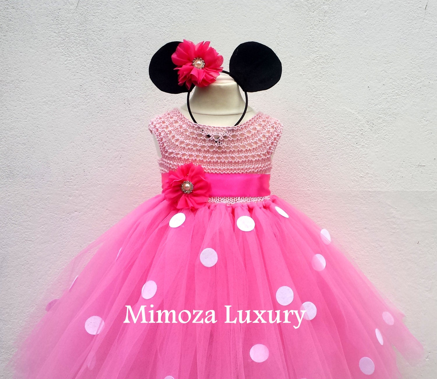 Minnie mouse birthday dress pink minnie mouse outfit 1st