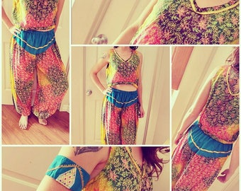 Handmade Belly Dance Costume