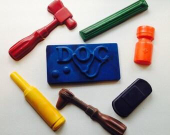 Doctor crayon set