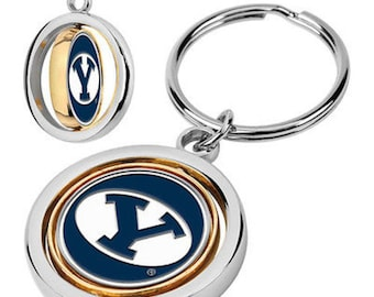 BYU Cougars Spinner Keychain