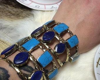 SALE - Vintage Kuchi Statement Cuffs