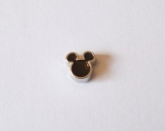 Mickey Floating Charm, will fit into any brand of floating charm locket neclaces or bracelets