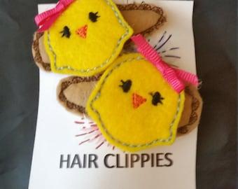 Chickie Hair Clippies - 1 pair