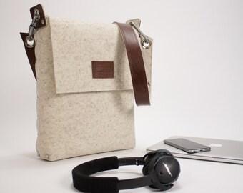 "Laptop bag 13"", MacBook Pro Laptop bag, Felt Laptop Bag, 13 inch Laptop Bag, Laptop Satchel, Laptop Messenger Bag"