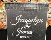 Rose Gold Wedding Card Bo...