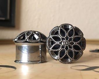 Boho Plugs, gauges  3/4, 7/8, 19mm, 22mm