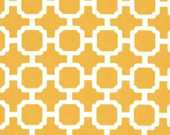Mill Creek Hockley Indoor/Outdoor Fabric - Yellow / White