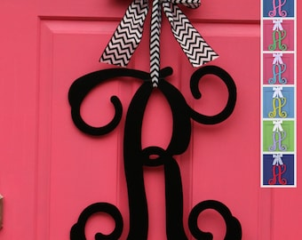 Monogram Initial - Letter Door Hanger - Monogram Letter