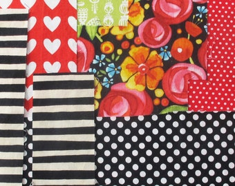 Patchwork Collection | Fabric pieces to use for making patchwork or the other small sewing or crafting projects.