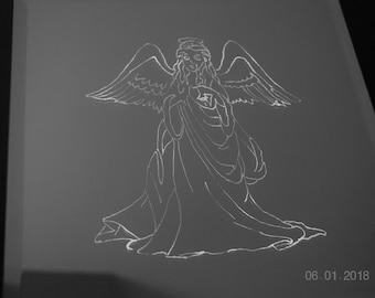 Angel, Mirror Picture, Religion, Communion, hristianity, Wediing, Birthday