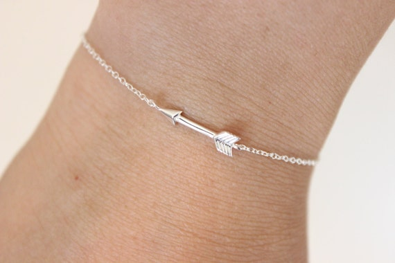 sterling adjustable item women arrow in for bracelet feather silver