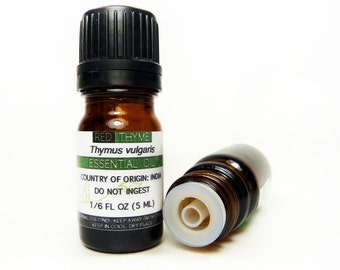 Red Thyme Essential Oil, 5ML or 15ML, 100% PURE & Therapeutic Essential Oil