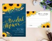 PRINTED bridal shower inv...