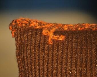 Palaphe   knitted cushion